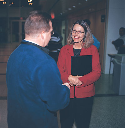 """Mary Andringa's commitment to service is evident in her eagerness to listen to dealers,  customers and factory employees. """"We treat our employees, dealer network and  customers with respect,"""" she says."""