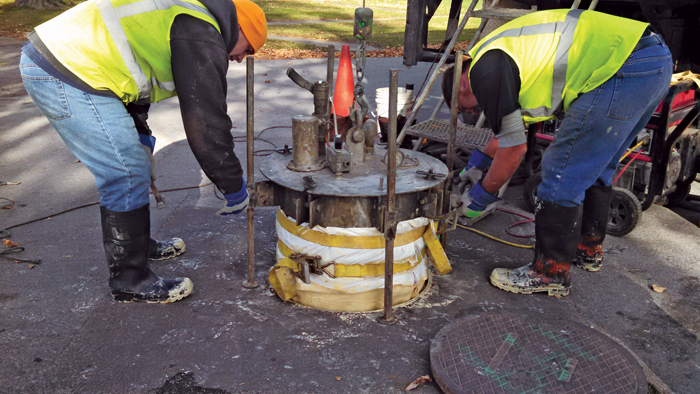 Cured-in-Place Manhole Technology