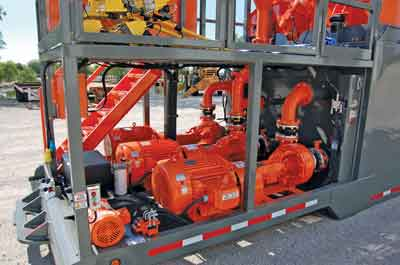 Electric motors/centrifugal pumps: Electric motors and centrifugal pumps with mechanical seals