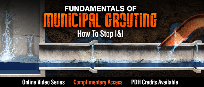 Fundamentals of Municpal Grouting