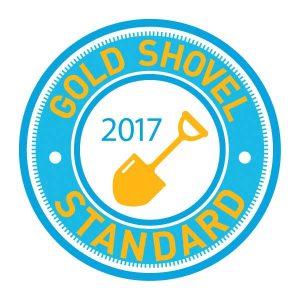 Gold Shovel Standard Icon