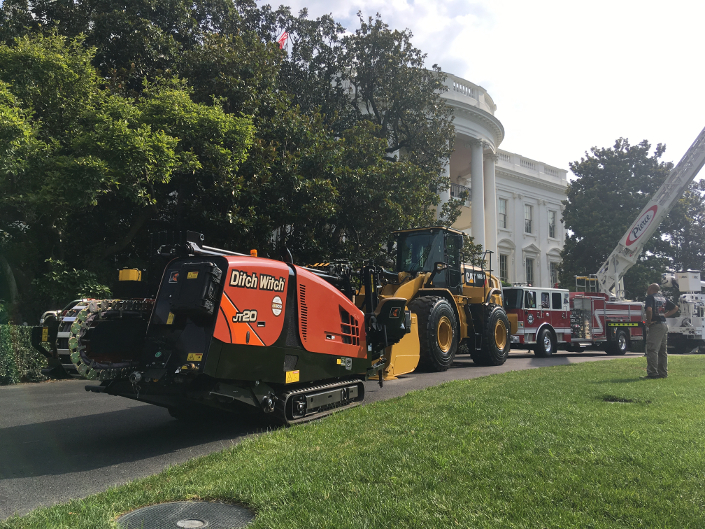 Ditch Witch at White House