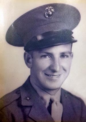Ben Krzys, U.S. Marine Corps