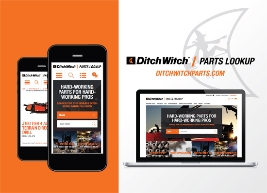 Ditch Witch Parts Lookup tool
