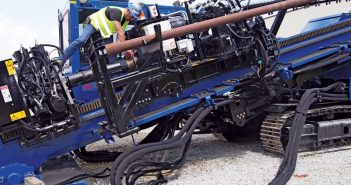 american augers hdd rig