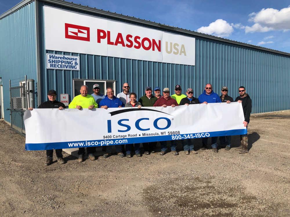 ISCO Industries acquires Plasson plant