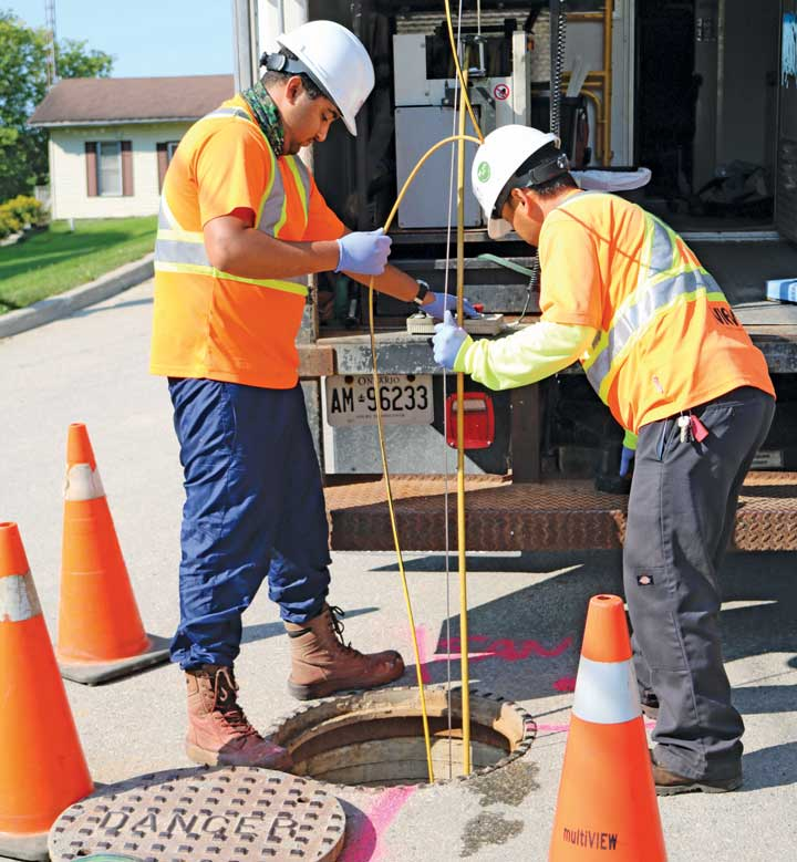 sewer safety inspection