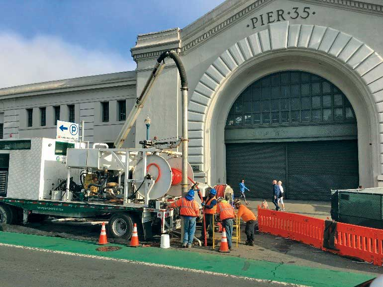 stormwater rehab in San Francisco