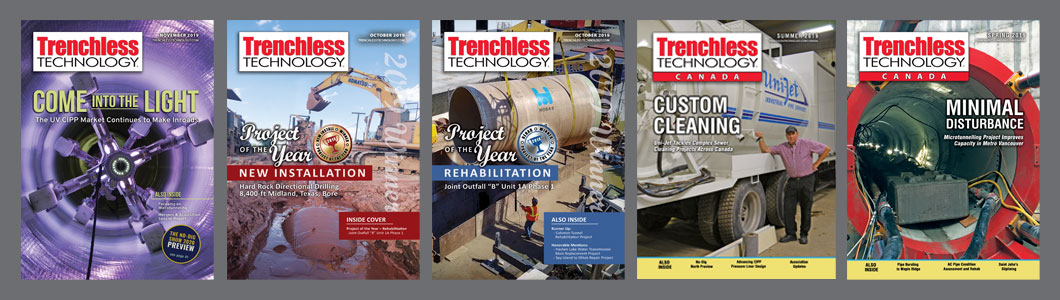 Trenchless Technology covers