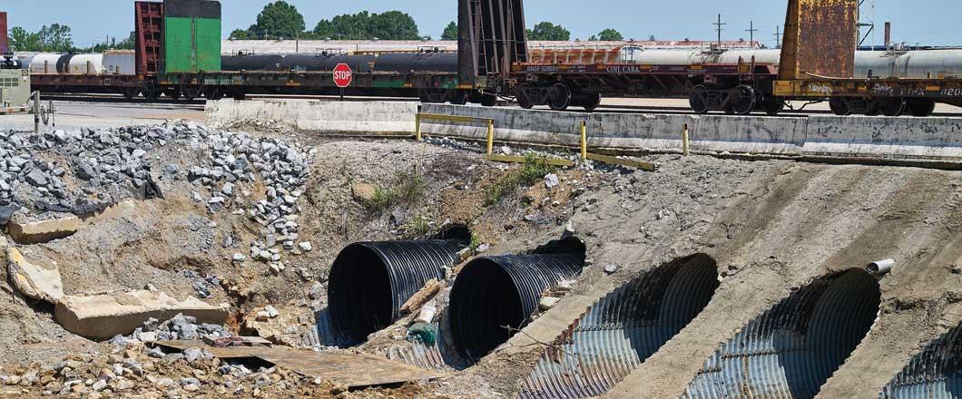 BNSF Memphis Rail Yard Rehab