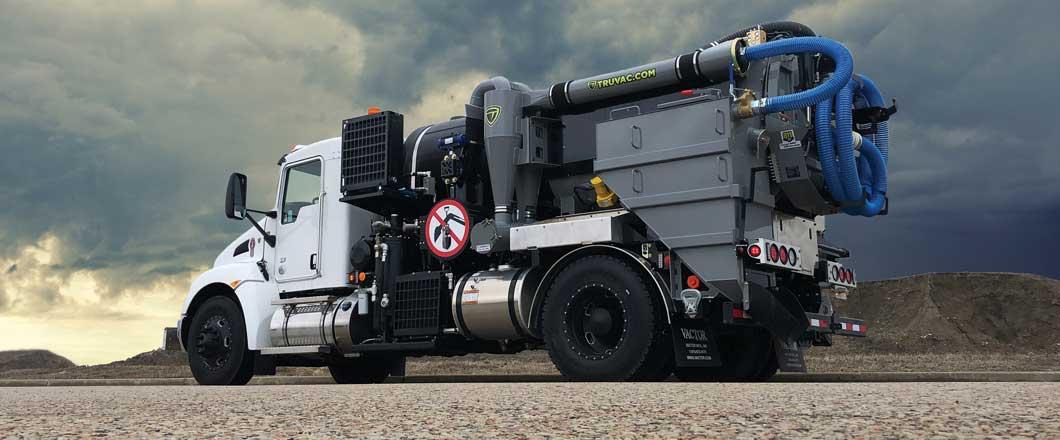 TRUVAC vacuum excavator