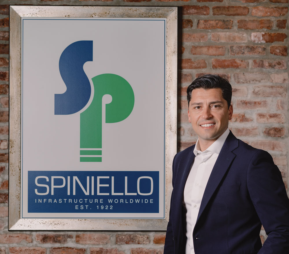 EJ Solimine took over as president of Spiniello Companies