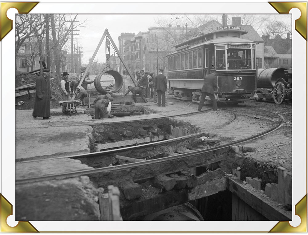 Boston infrastructure in the 1800s