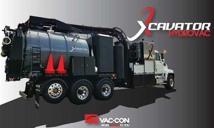 Vac Con vacuum excavator