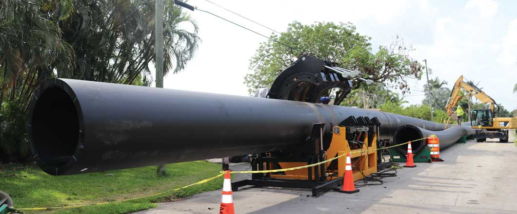 Fort Lauderdale HDPE force main
